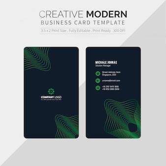 Carte de visite créative