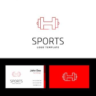 Carte de visite du sport