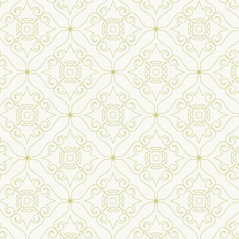 Carte de visite de luxe en or et modèle vectoriel de logo d'ornement vintage. l'élégant rétro s'épanouit dans un cadre ornemental avec motif de fond
