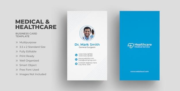 Carte de visite médicale