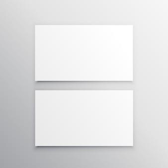 Carte de visite noire modèle mockuo conception