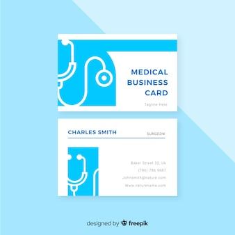 Carte de visite pour hôpital ou médecin