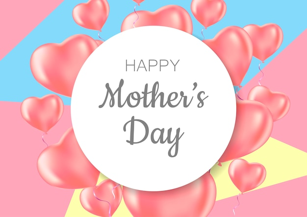 Carte de voeux fête des mères