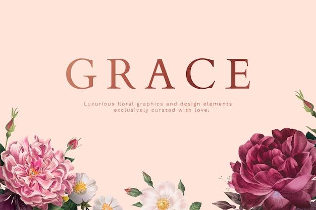 Carte de voeux grace