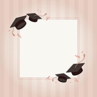 Carte de voeux de graduation