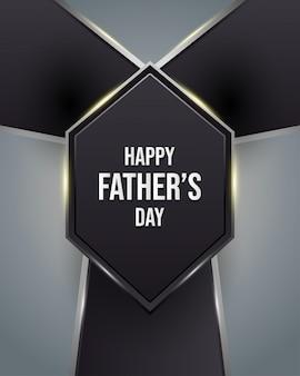 Carte de voeux heureuse fête des pères