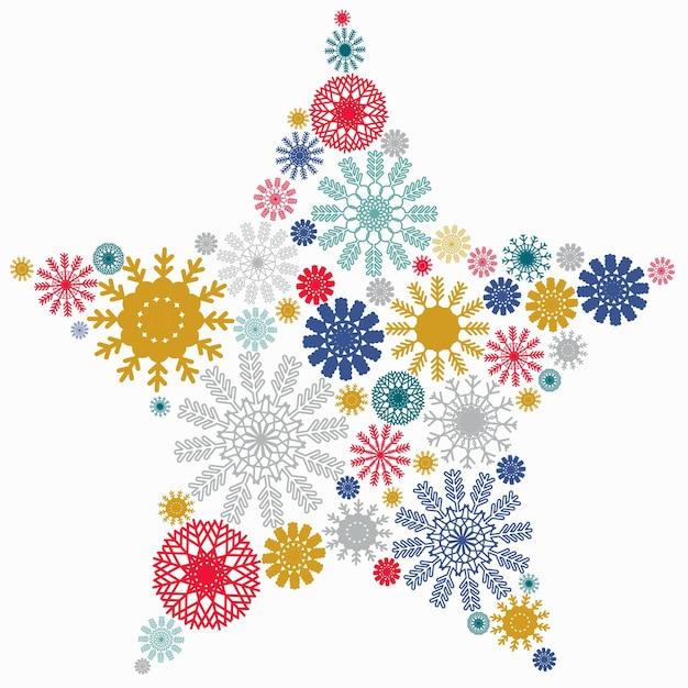 Carte de voeux de noël et nouvel an vector avec