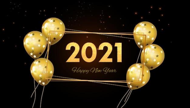 Carte de voeux de nouvel an en