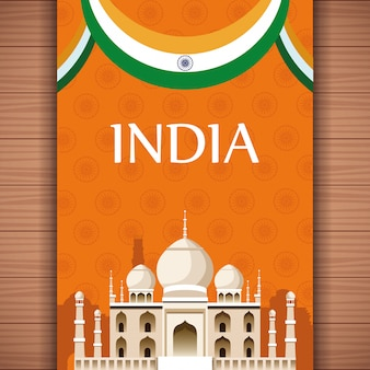 Carte de voyage en inde