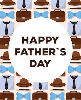 Cartel de la fête des pères
