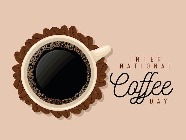 Cartel de la journée du café