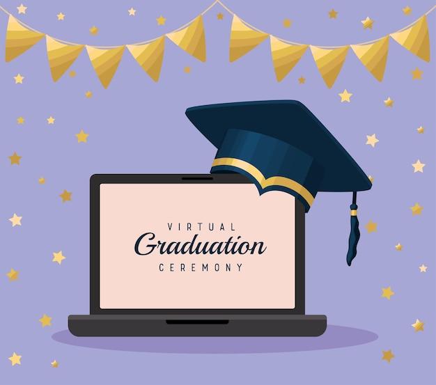 Cartel virtuel de remise des diplômes