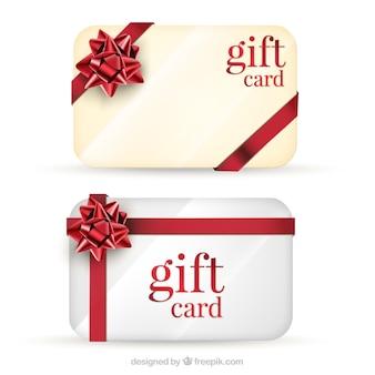 Les cartes-cadeaux pack