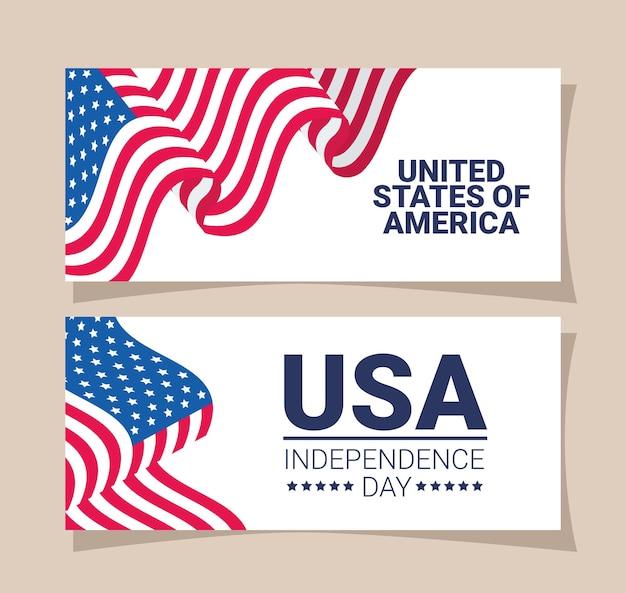 Cartes du jour de l'indépendance