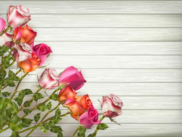 Cartes d'invitation de mariage avec des éléments floraux. fichier inclus