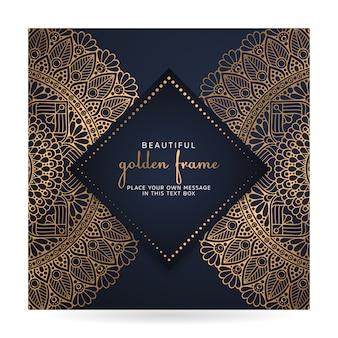 Cartes ou invitations avec motif mandala
