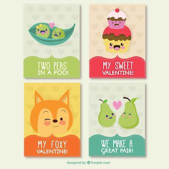 Cartes journalières drôle de valentine