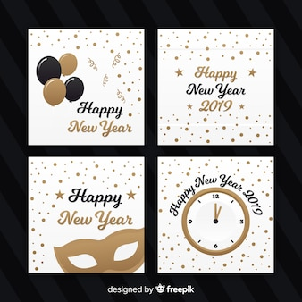 Cartes de nouvel an