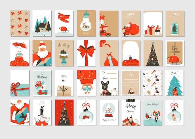 Cartes de voeux joyeux noël
