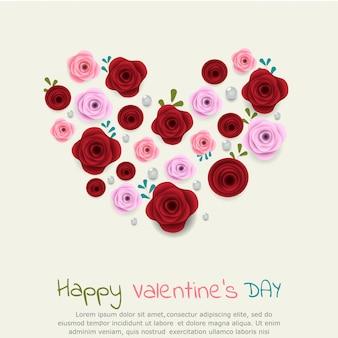 Cartes de voeux saint valentin
