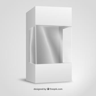 Carton et emballages en plastique maquette