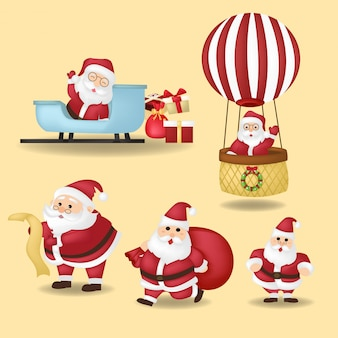 Cartoon christmas illustrations