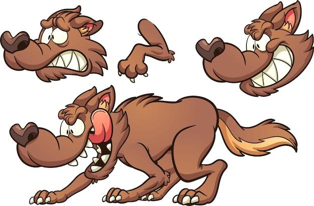 Cartoon_wolf
