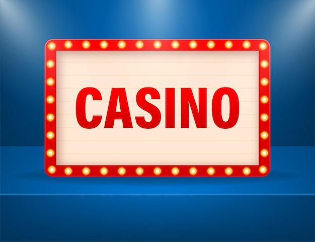 Casino lightbox