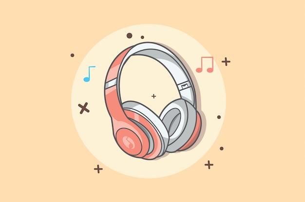 Casque de musique