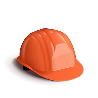 Casque orange