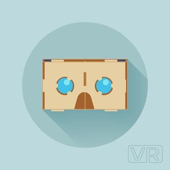 Casque de réalité virtuelle en carton