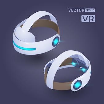 Casque de réalité virtuelle isométrique