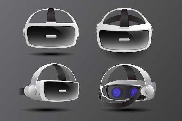 Casque de réalité virtuelle réaliste