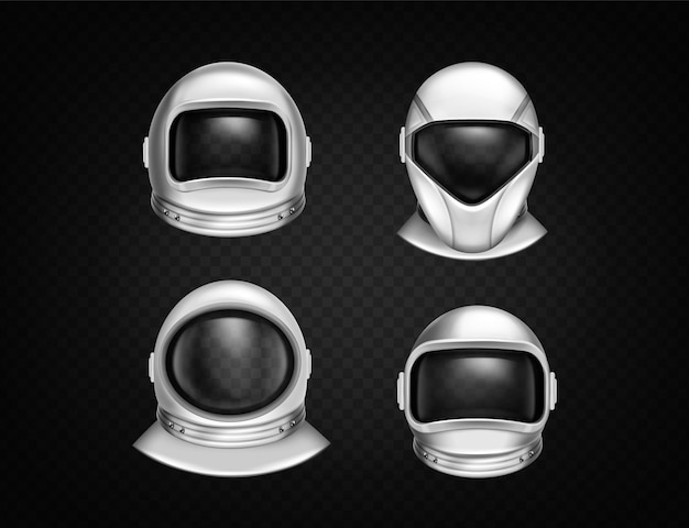 Casques d'astronautes pour l'exploration spatiale