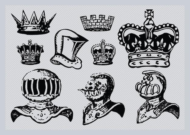 Des casques et des couronnes