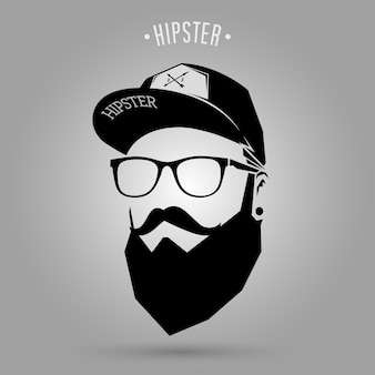 Casquette homme hipster