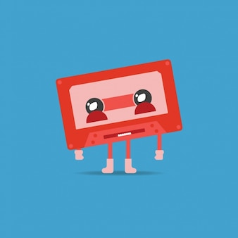 Cassette illustration de fond