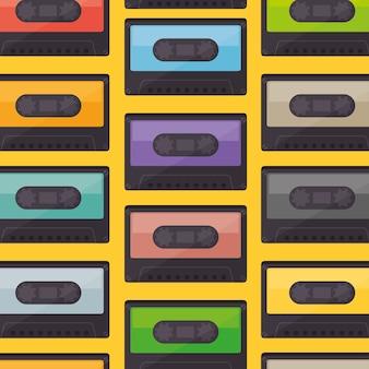 Cassette musique ancien modèle