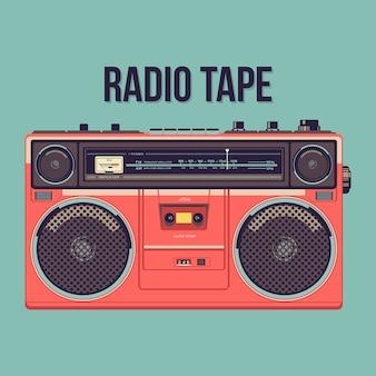 Cassette radio