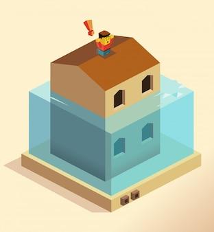 Catastrophe d'inondation