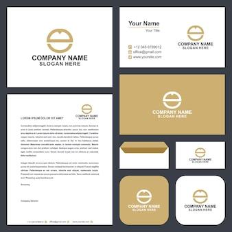 Cd logo et carte de visite
