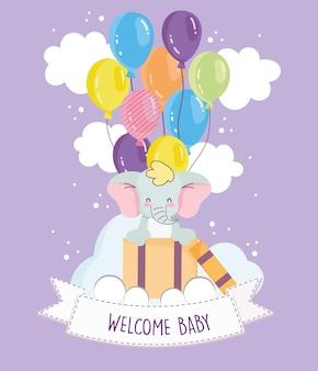 Célébration de la douche de bébé