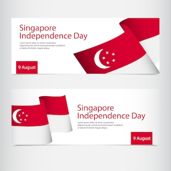Célébration du jour de l'indépendance de singapour