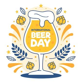 Célébration de l'événement de la journée de la bière