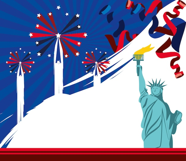 Célébration festive américaine