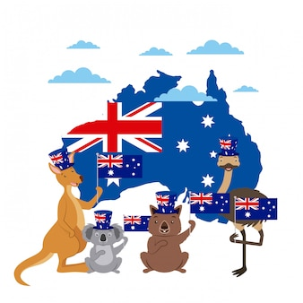 Célébration de la fête des animaux australie