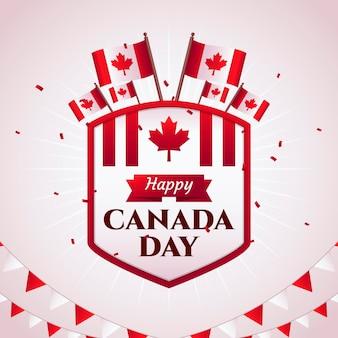 Célébration de la fête du canada
