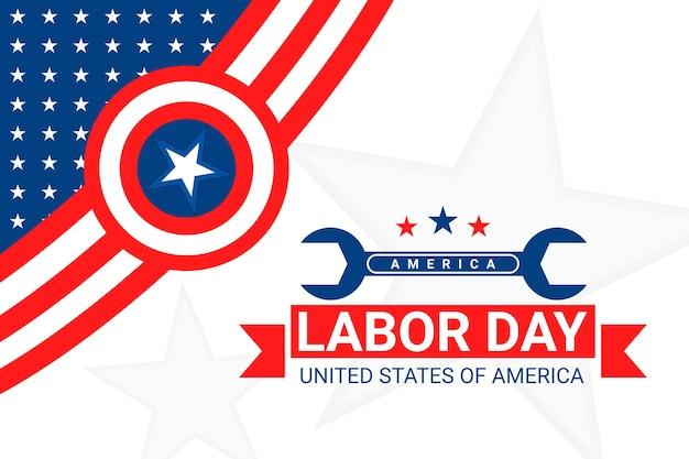 Célébration de la fête du travail des états-unis