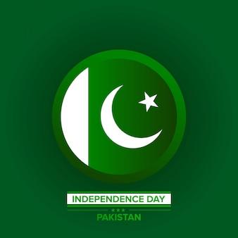 Célébration de la fête de l'indépendance du pakistan.