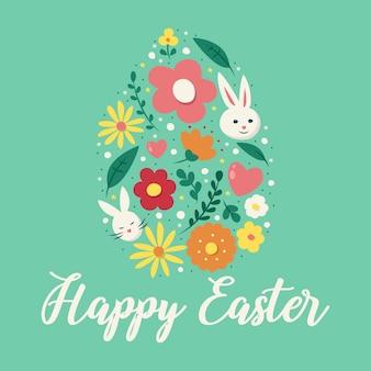 Célébration de la fête de pâques joyeuse